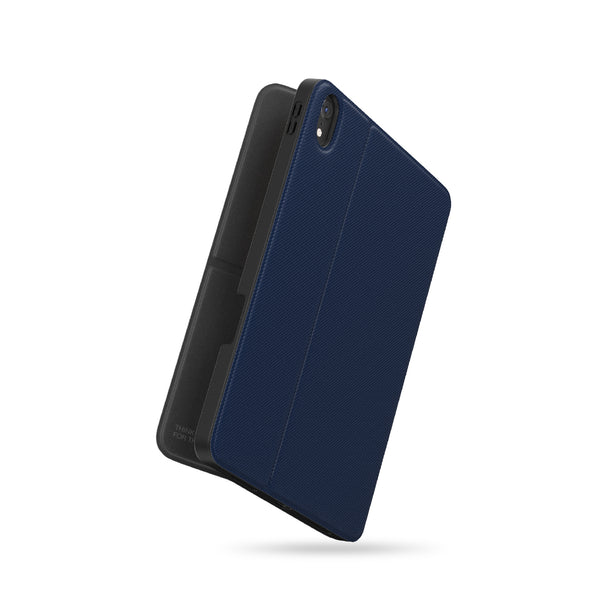 Anti-Bacterial Protection Evolution Folio iPad Case - Blue