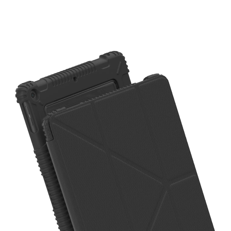 Anti-Bacterial Drop-Proof Military Case for iPad - Black