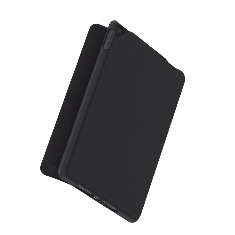 Anti-Microbial Evolution Folio iPad Case - Black