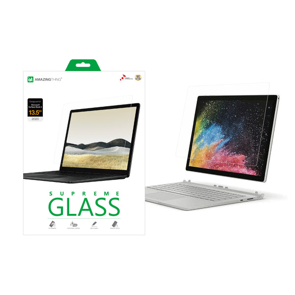 SUPREMEGLASS Screen Protector for Microsoft Surface Book 3