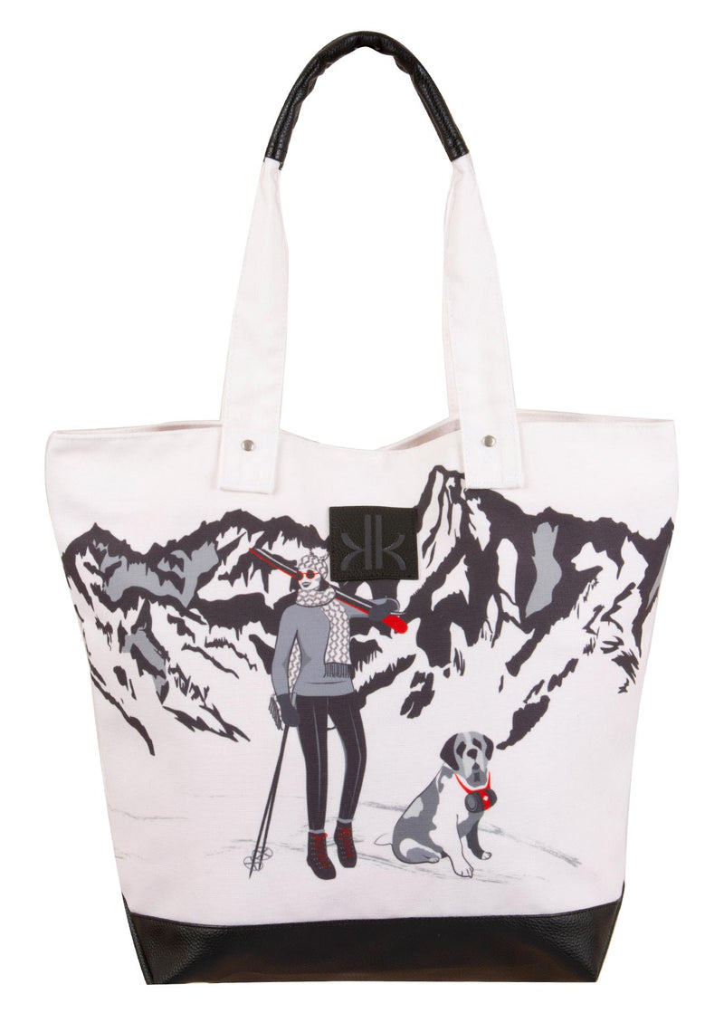 Canvas Tote Bag, Bernie