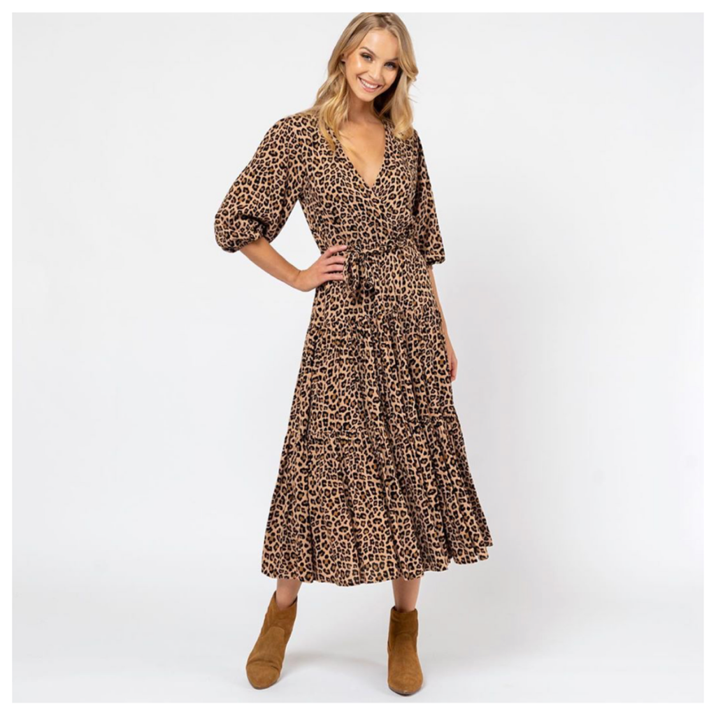 Leopard Love Dress