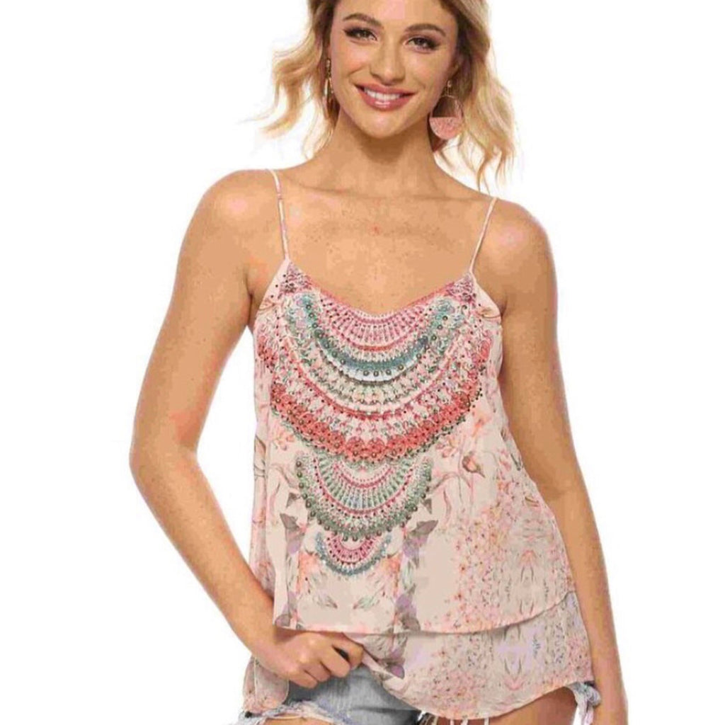 Pretty in Pink Goddess Top