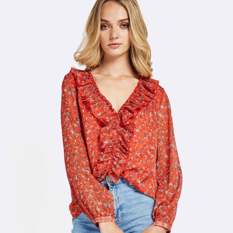 Spring Affair Floral Shirt