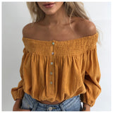 Barbados Off Shoulder Top