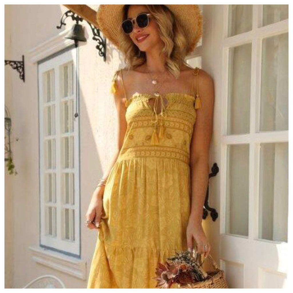 It Mustard been love Dress