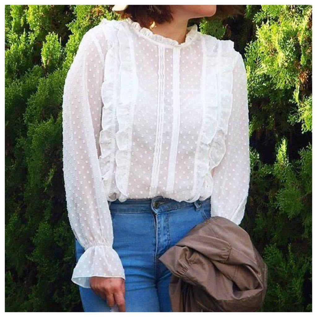 Hazel Frilled Blouse