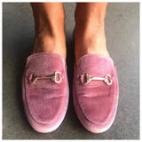 Olivia Rose Velvet Loafers