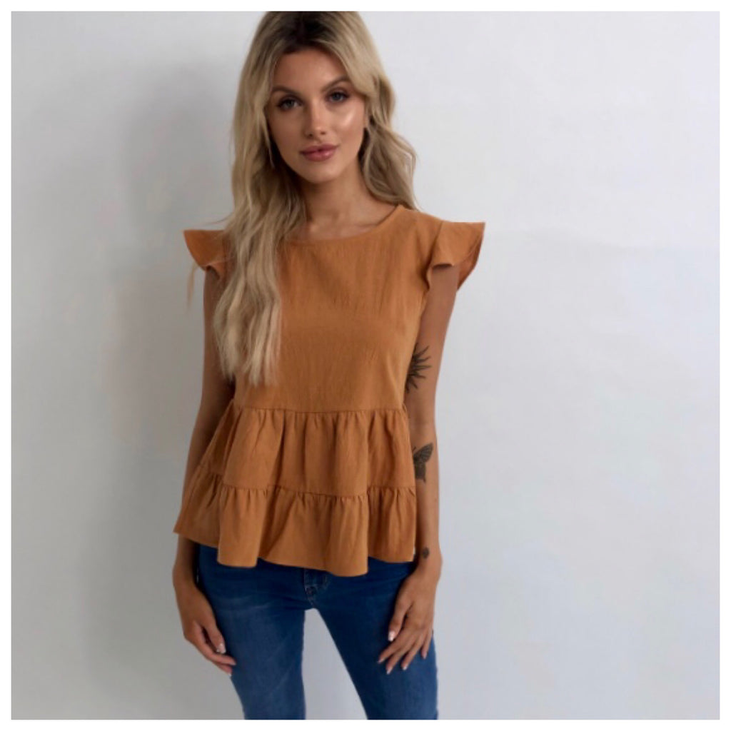 Eva Tiered Top