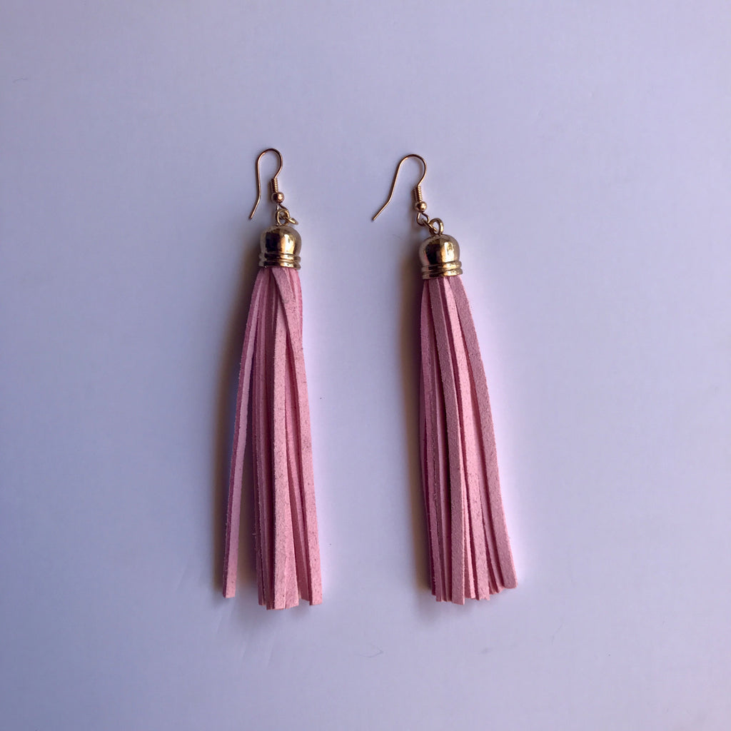 Penny Tassel Earrings