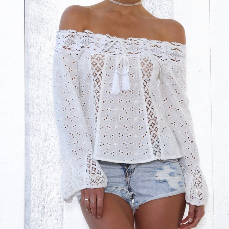 Positano Lace Top