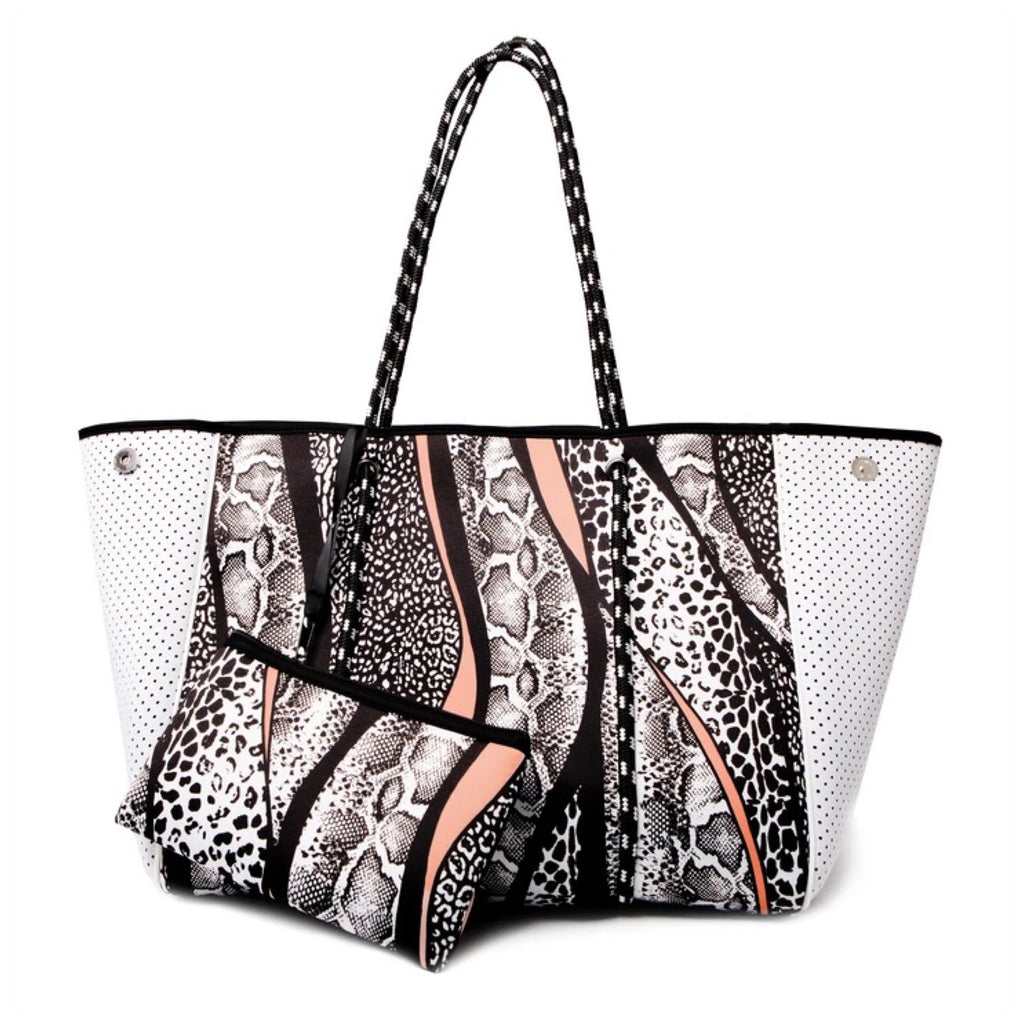 Neoprene Bag with Purse