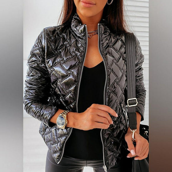 Fashion Solid  Warm  Jacket - Venice Streets Fashion online style Boutique