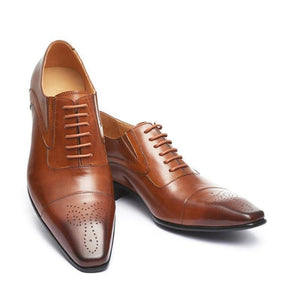 Tomas Top Quality Genuine Leather Men Formal Shoe - Venice Streets Fashion online style Boutique