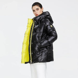 High Quality Winter Jacket Hooded Coat Women Fashion - Venice Streets Fashion online style Boutique