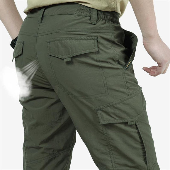 Male Waterproof Quick Dry Cargo Pants - Venice Streets Fashion online style Boutique