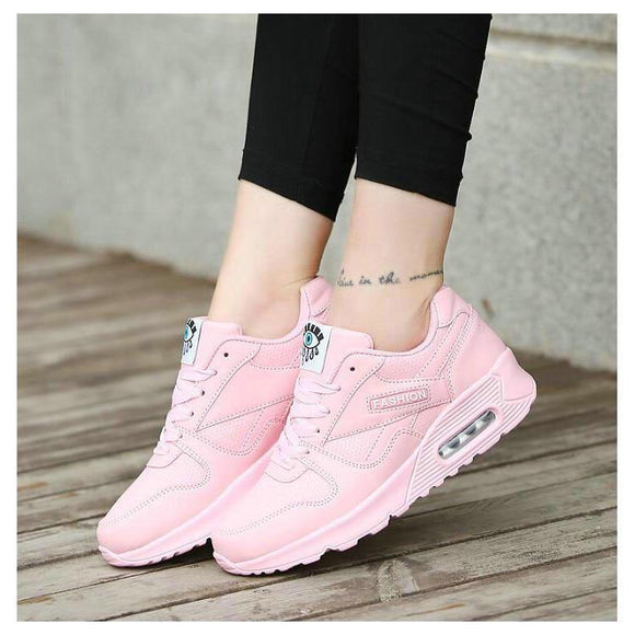 Women Sneakers Women Flats Sneakers Shoes Chunky Sneakers - Venice Streets Fashion online style Boutique