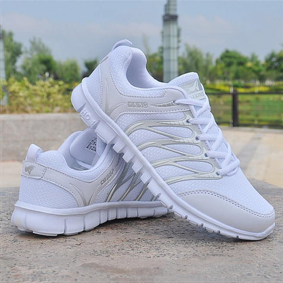 Women Shoes Lightweight Women Sneakers White Tenis  Breathable Casual  Shoes - Venice Streets Fashion online style Boutique
