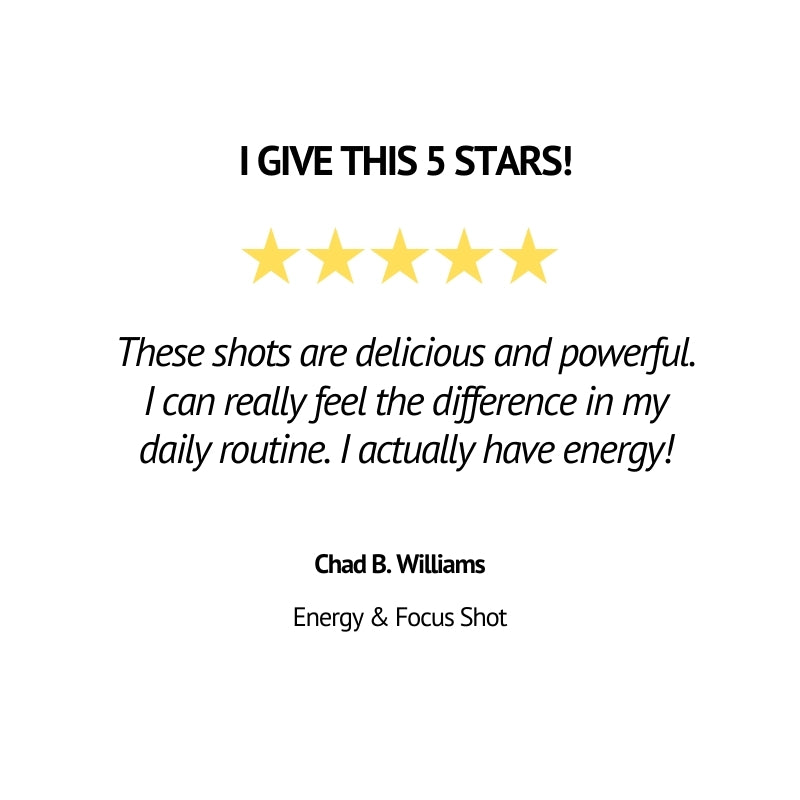 energy and focus review