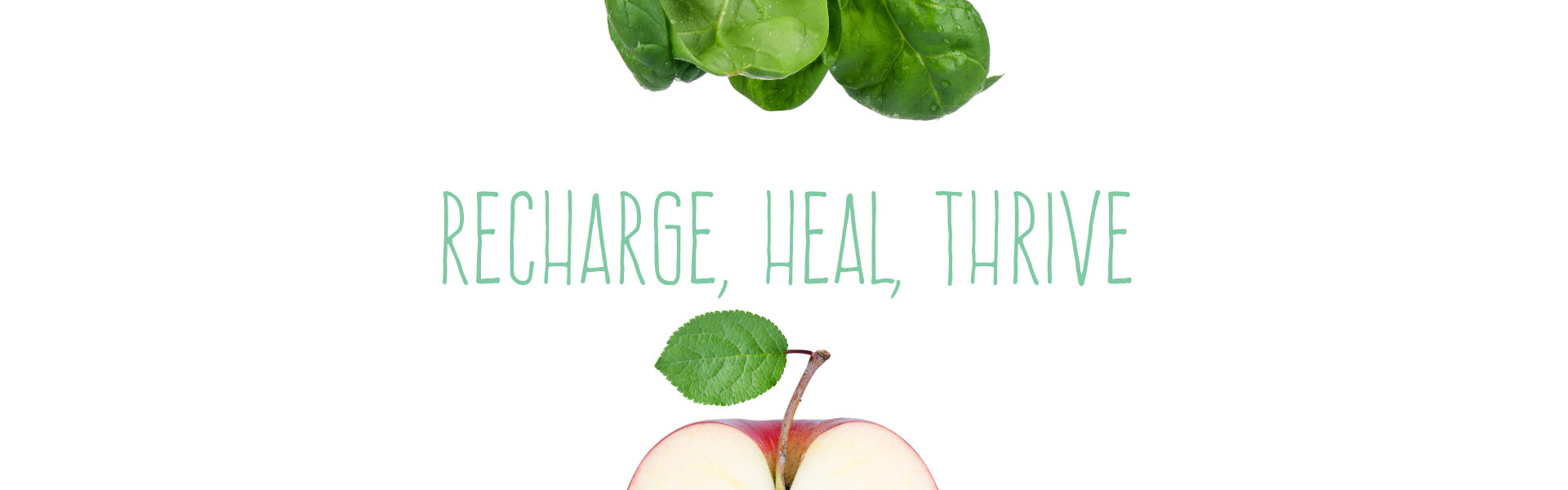 Recharge, Heal, Thrive Logo