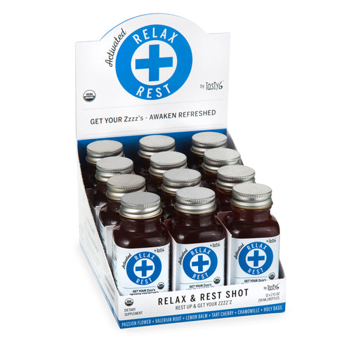 RELAX + REST SHOT 12 Pack