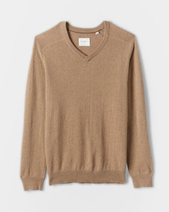 Saddle V Neck Sweater