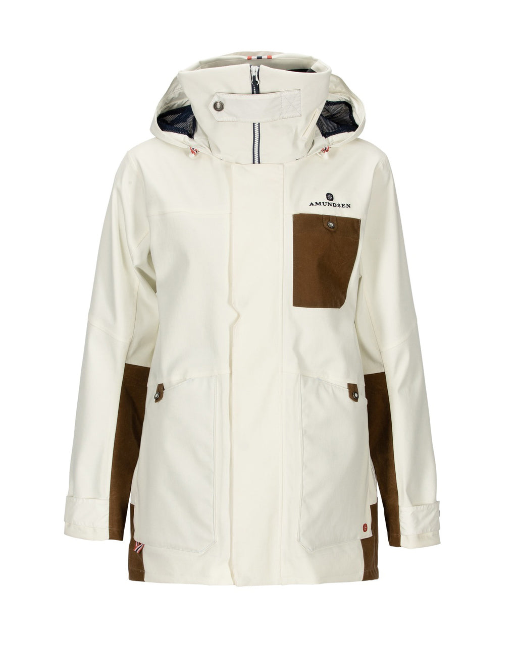 The design combines the classic marine style with a true Amundsen Sports signoff, and with the jacket built in sturdy nominated Nordic 2 ply fabrication, this jacket has what it takes to keep you dry and warm. Deck is a versatile jacket with numerous features ensuring a wide range of use on and off shore.