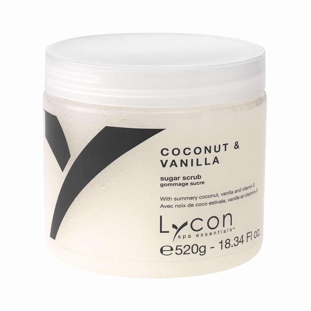 Lycon Coconut & Vanilla Sugar Scrub