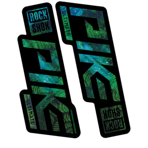 Space Ferns RockShox Pike Decal