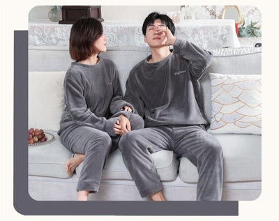 Pyjamas Pilou Pilou Couple Gris