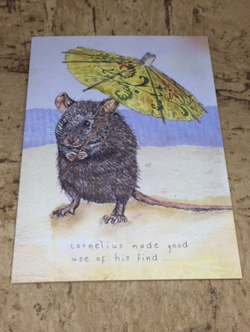 Cornelius Mouse Greeting Card
