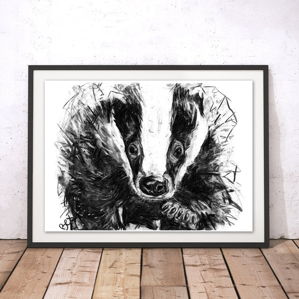 Badger Original Print