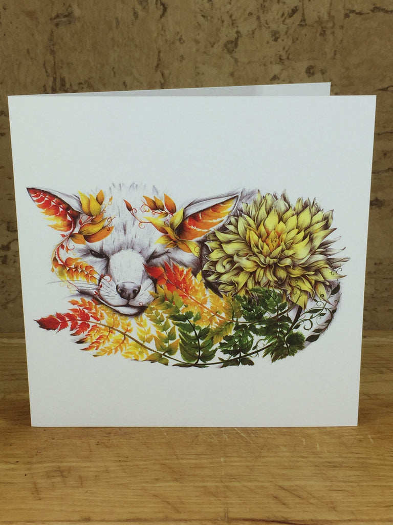 Finlay the Fox Greeting Card