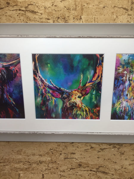 The Woodland Trio Triptych