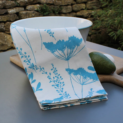 Cow Parsley Tea Towel