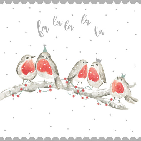 Robin Chorus Christmas Charity Cards