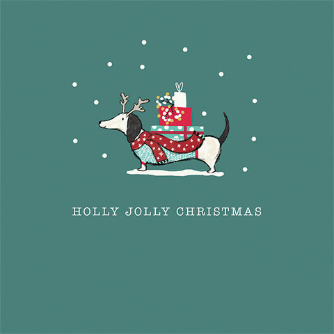 Holly Jolly Frank Christmas Charity Cards