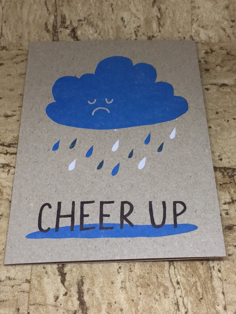 Cheer Up Greeting Card