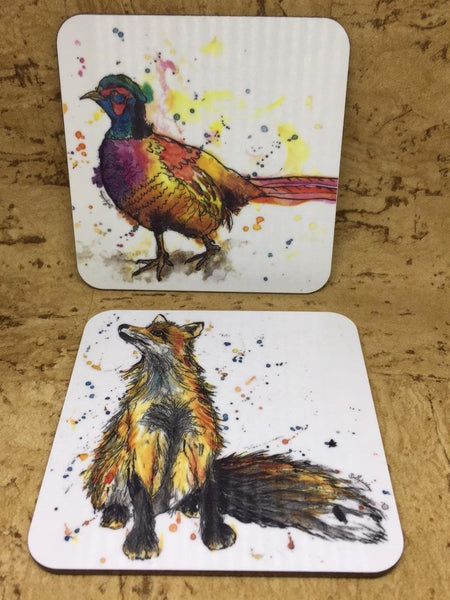 Set of 4 Country Coasters
