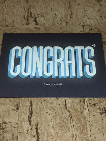 Star Congrats Greeting Card