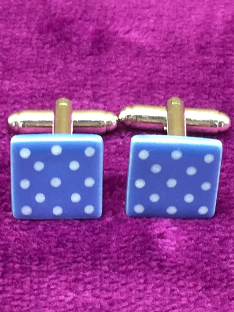 Dotty Ceramic Cufflinks