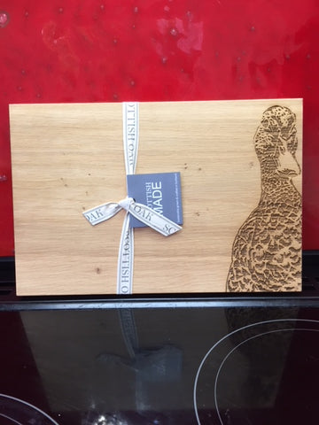 Duck Oak Serving Board