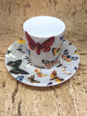 Butterfly Espresso 2 cup Set
