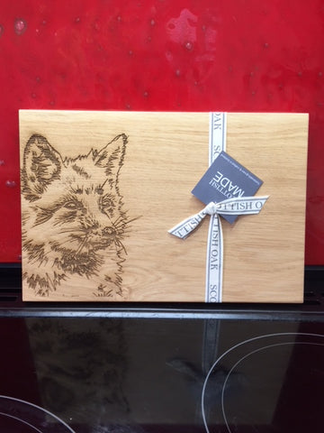 Fox Oak Serving Board