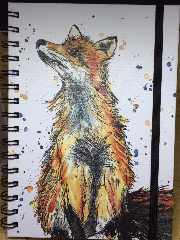 A5 Fox Notebook