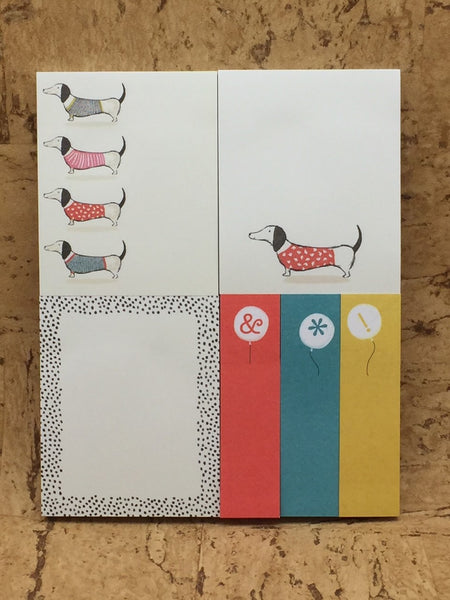 'Frank' the Dachshund Stationery Box