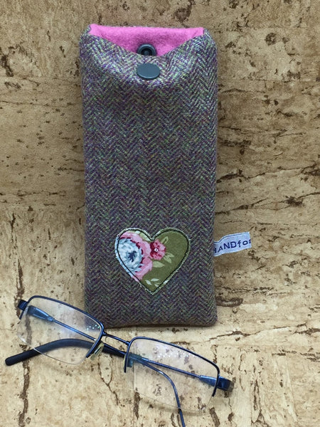 Tweed Glasses Cases