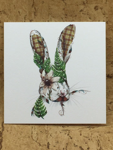 Harry the Hare Greeting Card