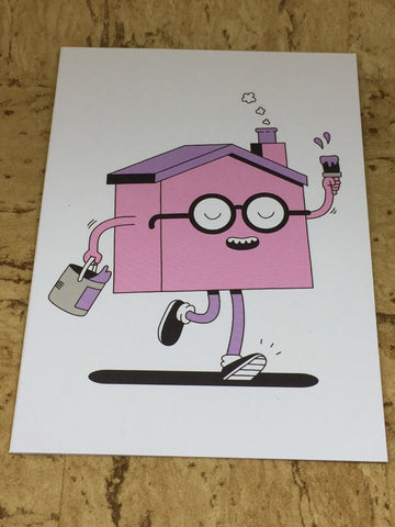 Moving House Greeting Card