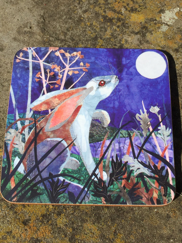 Moonlight Hare Coaster